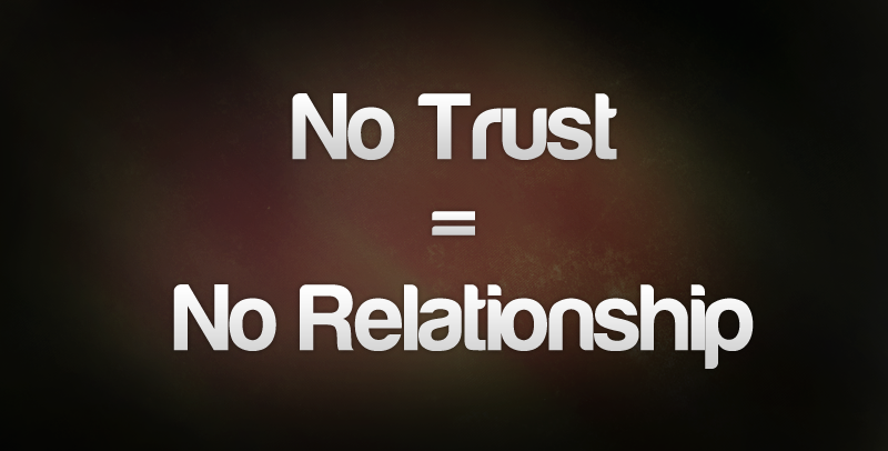 love and trust For any relationship to be successful, trust must precede love – here's why.